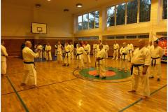 Seminář trenérů karate Slovensko září 2017